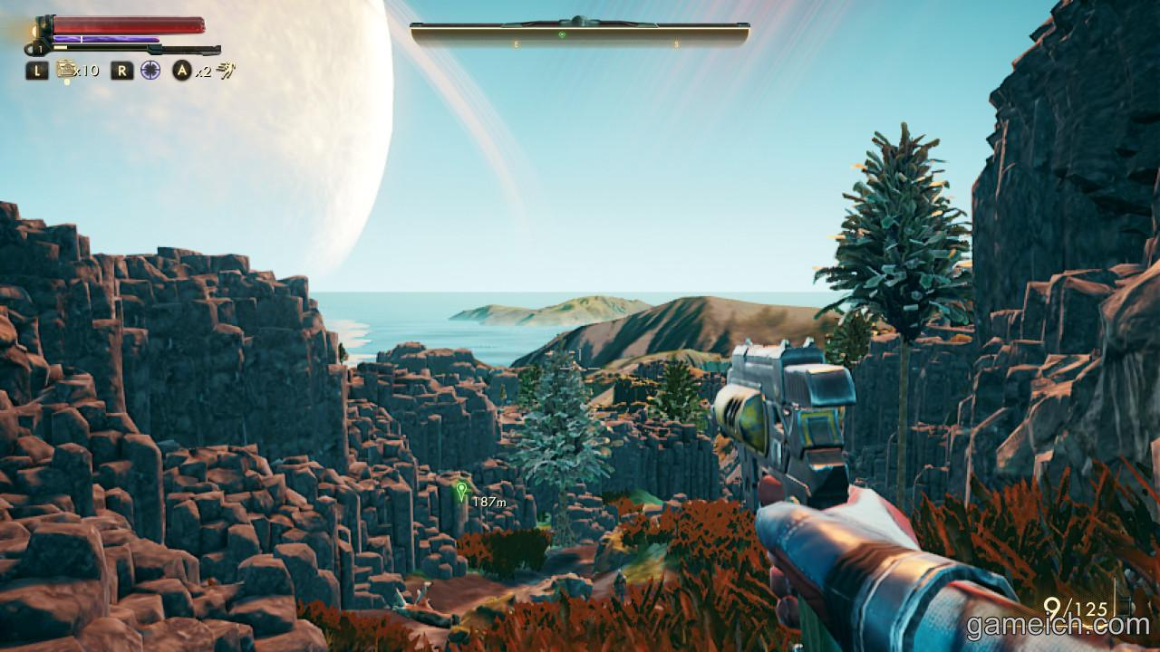 Outer Worlds view