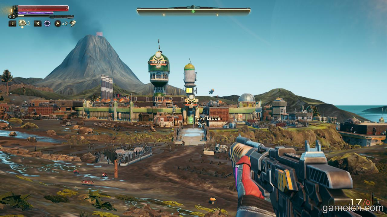 docked the outer worlds